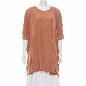 Stella McCartney Oversized Silk Top